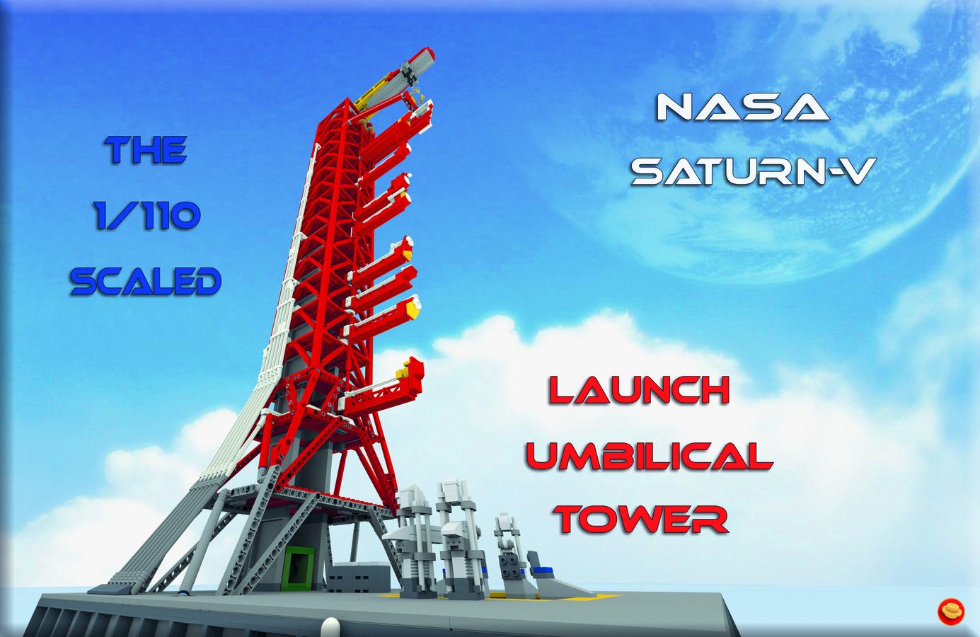 LEGO IDEAS - Product Ideas - NASA Saturn-V Launch Umbilical