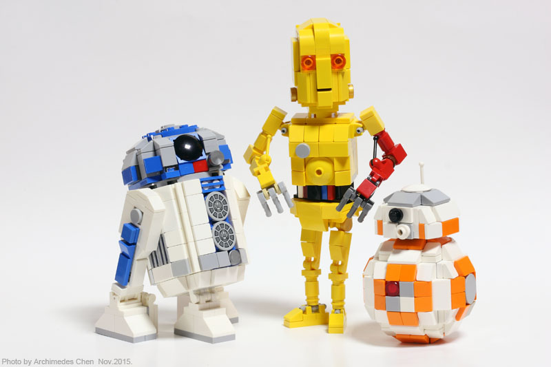 Lego Ideas Product Ideas R2 D2 C 3po Bb 8