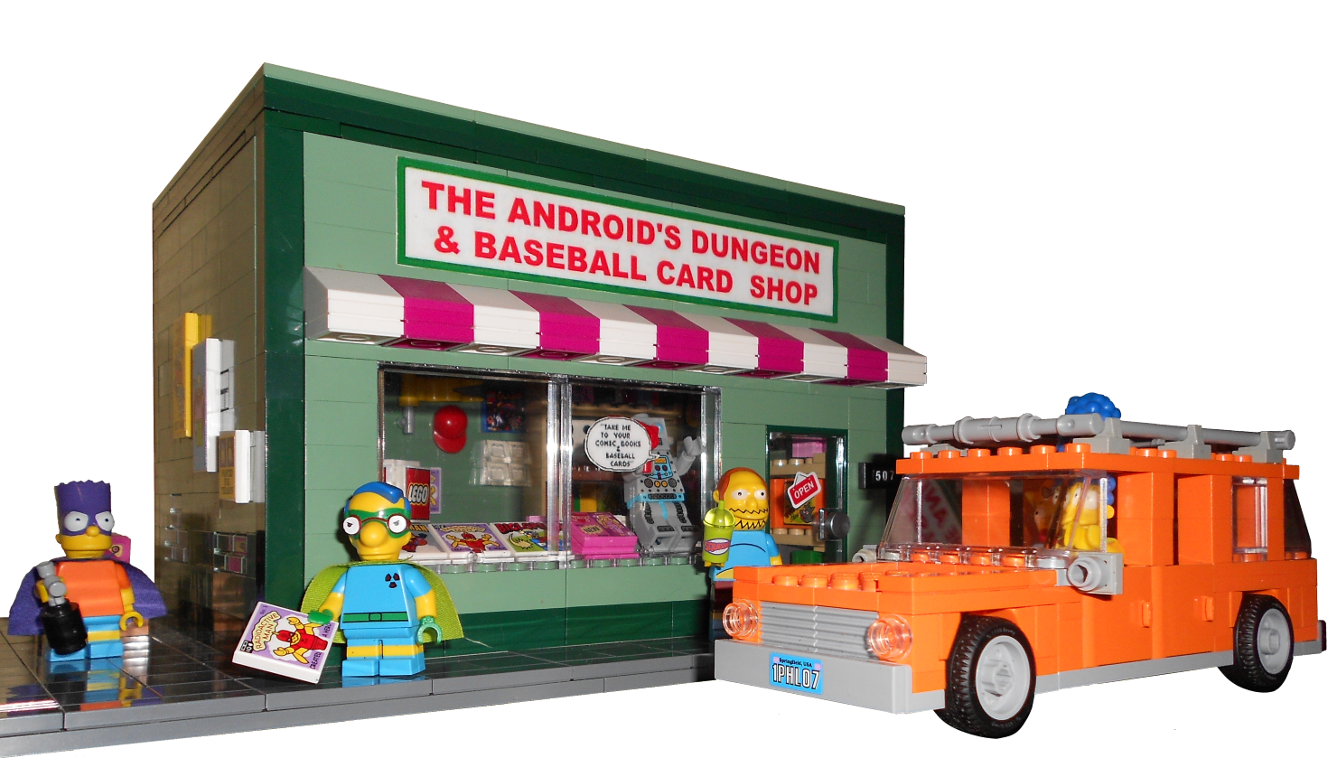 Lego Ideas Product Ideas The Simpsons The Androids