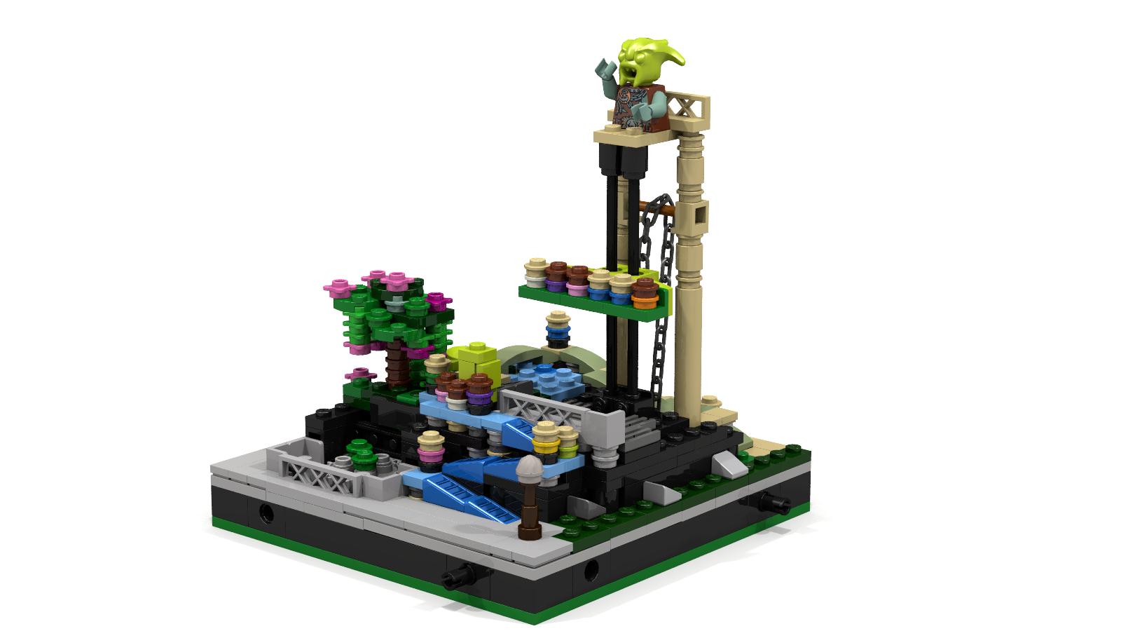 LEGO IDEAS - Product Ideas - Free Fall (It Works!!)