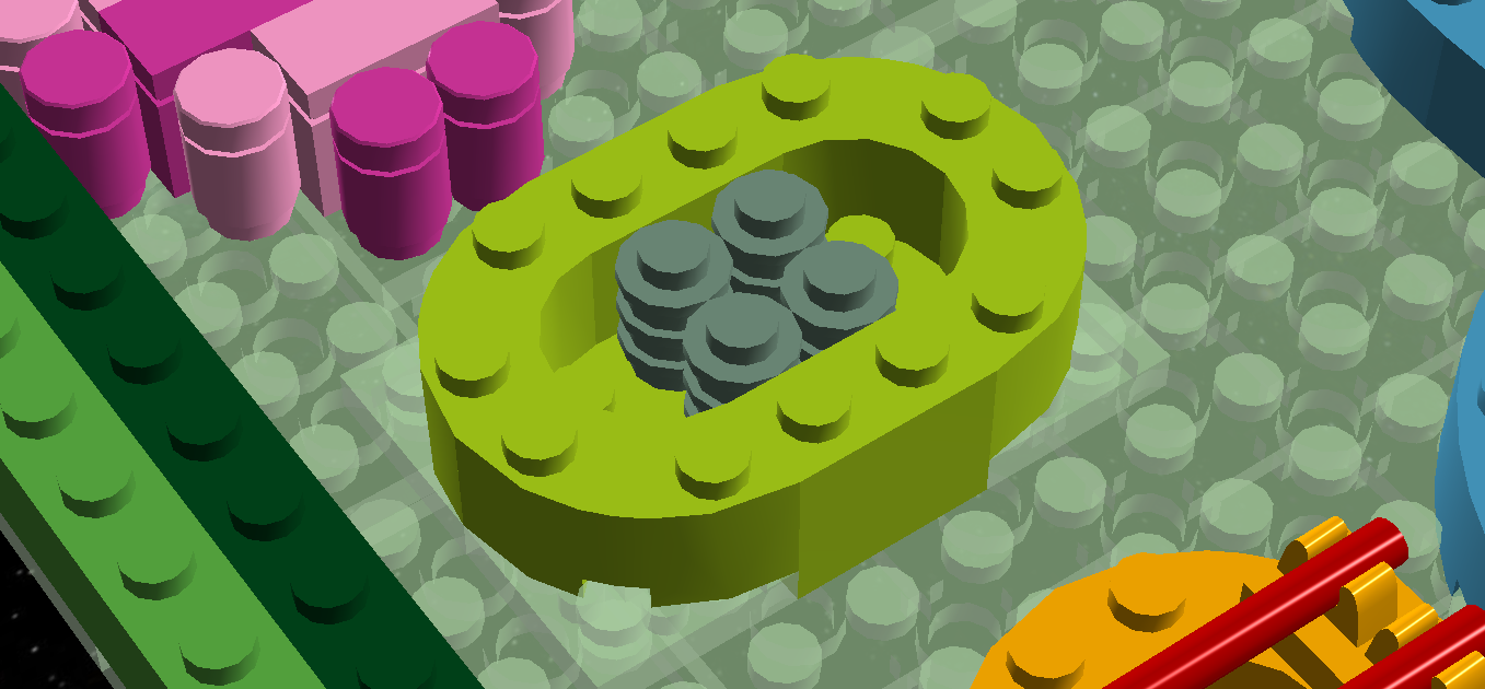 Lego Ideas Product Plant Cell 3d Diagram