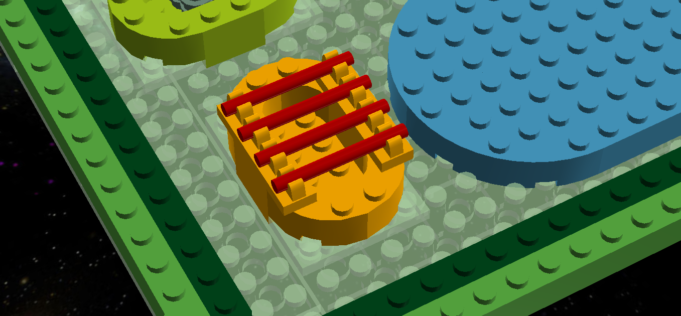 Lego Ideas Product Plant Cell 3d Diagram Project Using 1 13