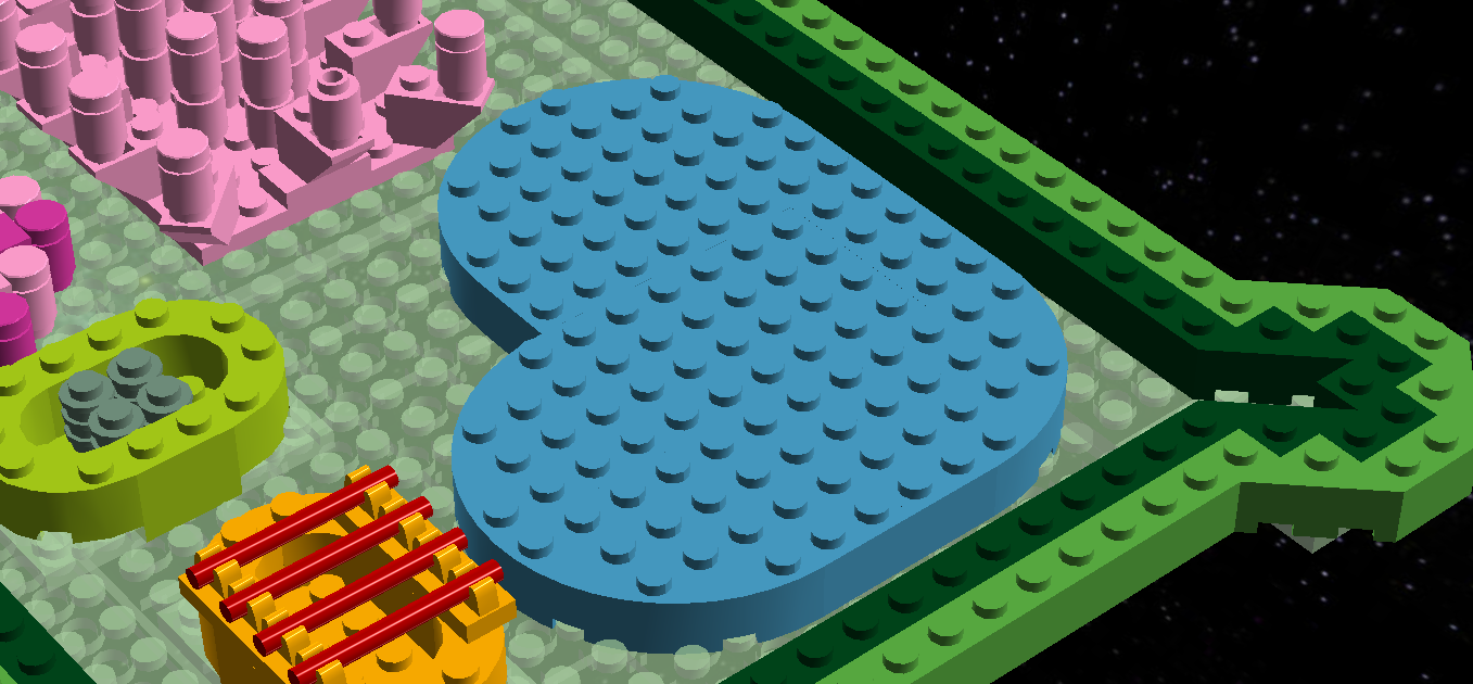 Lego Ideas Product Plant Cell With 3d Animal Cake Project Also Structure Diagram 1 13