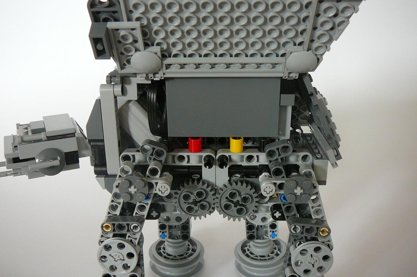 Lego Ideas Product Ideas Motorized Mini At At Walker
