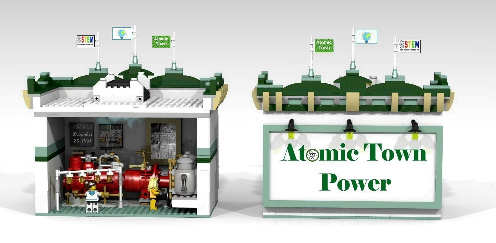 EBR-1 Lego Model