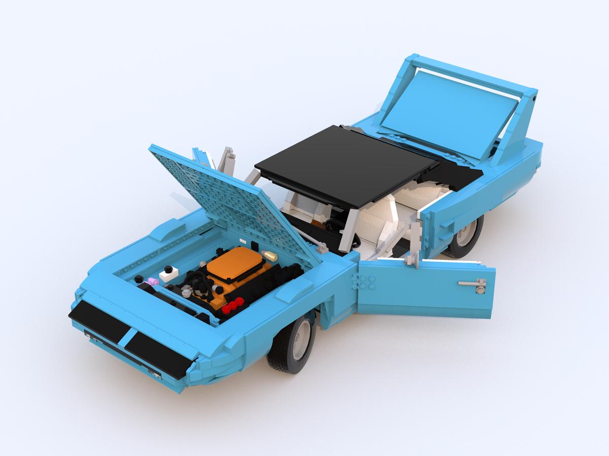 lego ideas product ideas 1970 plymouth superbird