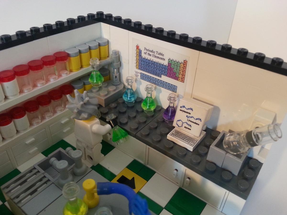 Lego Ideas Product Ideas Chemistry Laboratory