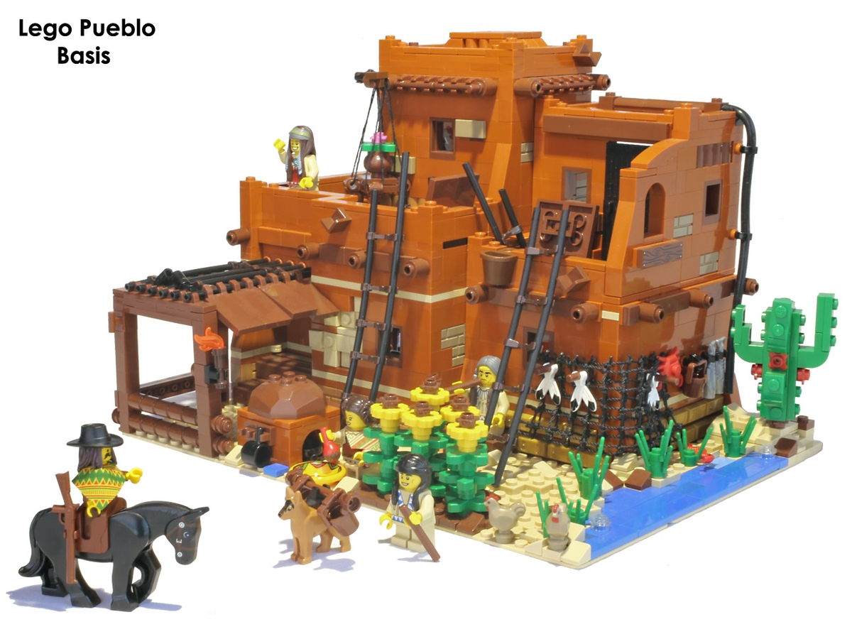 Lego Ideas Product Ideas Lego Pueblo