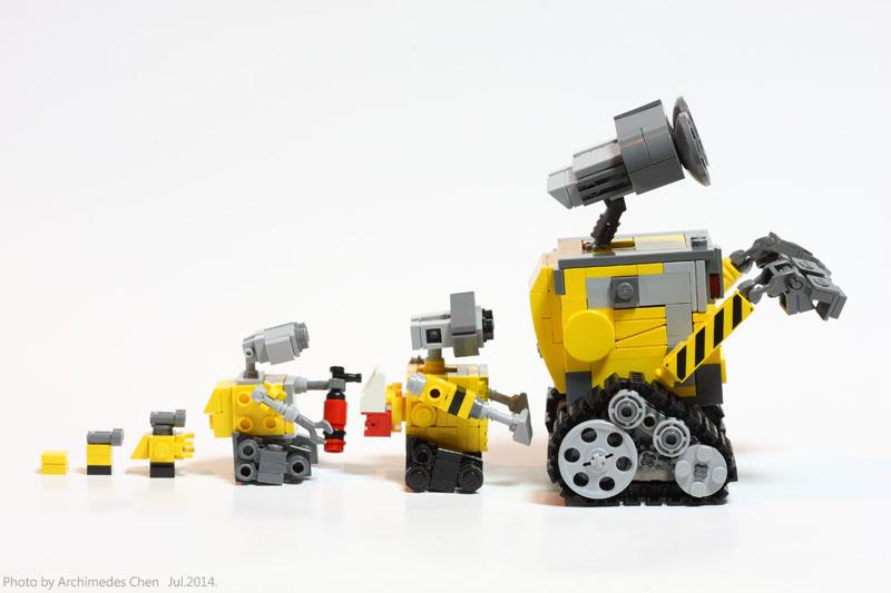 Lego Ideas Product Ideas Wall E Family