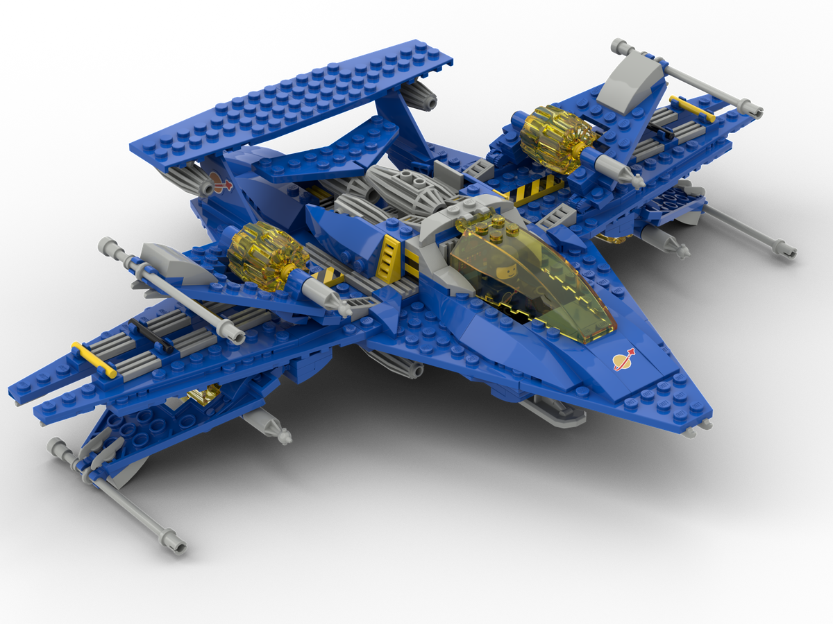 LEGO IDEAS - Product Ideas - Neo-Classic Spaceship - NCS-D1
