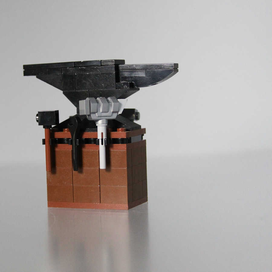 LEGO IDEAS - Product Ideas - Anvil with Stump and Hammers