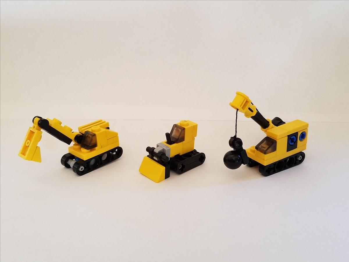LEGO IDEAS - Product Ideas - Micro Construction Vehicles