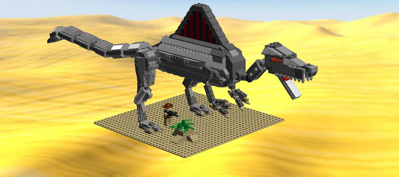 Lego ideas product ideas spinosaurus aegypticus - Lego dinosaurs spinosaurus ...