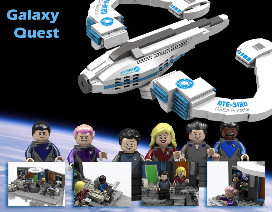 Lego Ideas Product Ideas Galaxy Quest N S E A Protector