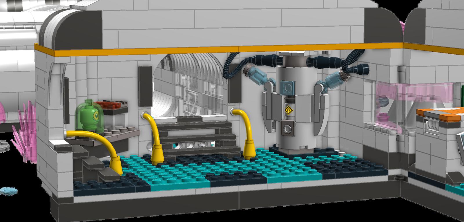 lego ideas product ideas subnautica survivors of the degasi