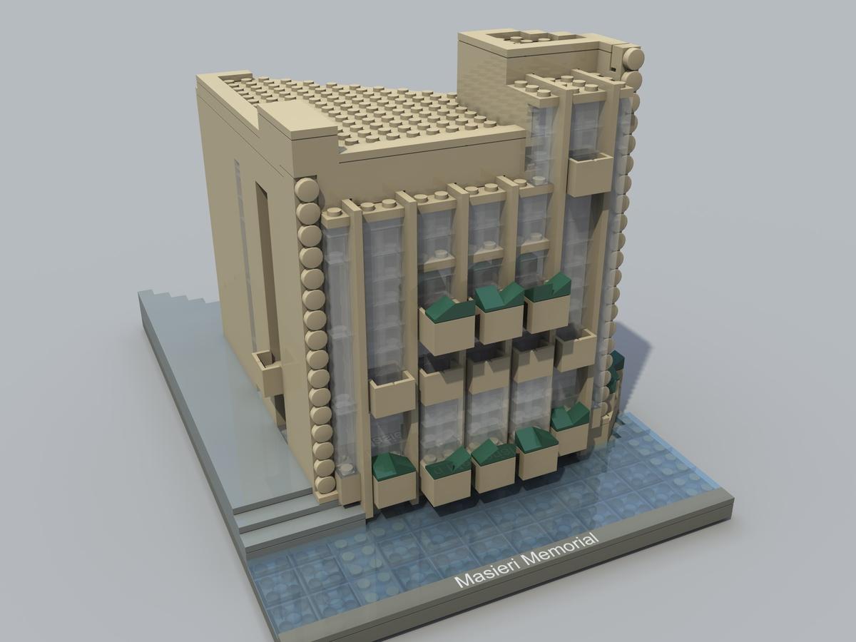 lego ideas product ideas frank lloyd wright s masieri memorial
