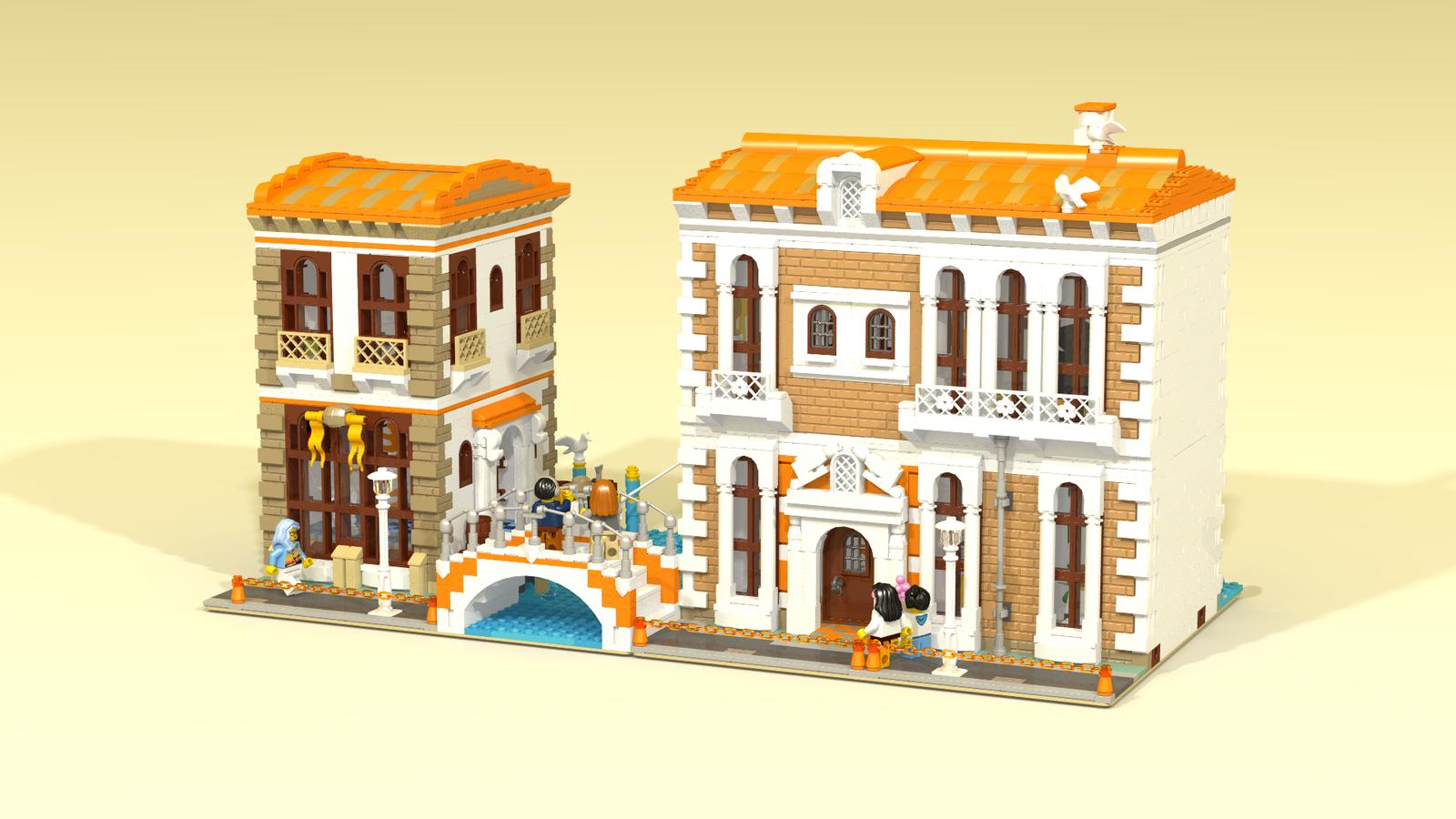 LEGO IDEAS - Product Ideas - Venetian Houses