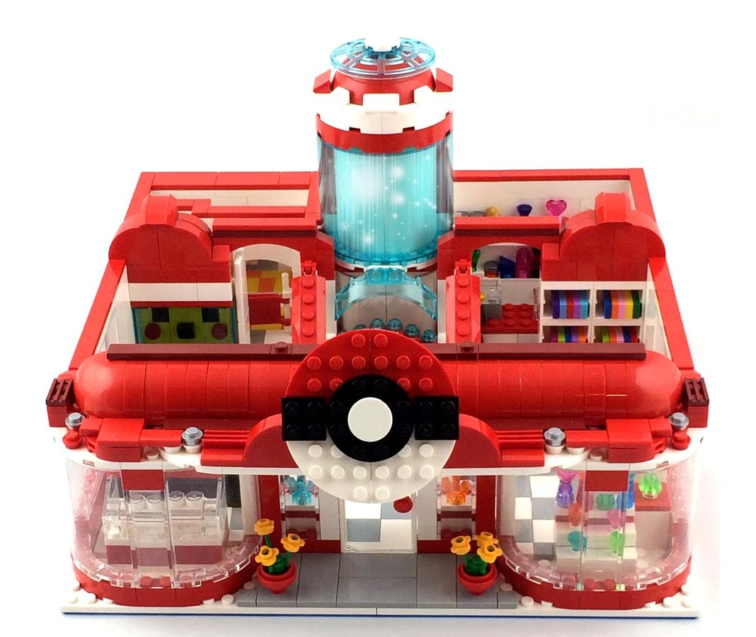 LEGO IDEAS - Product Ideas - Pikachu's Pokemon Center Visit!