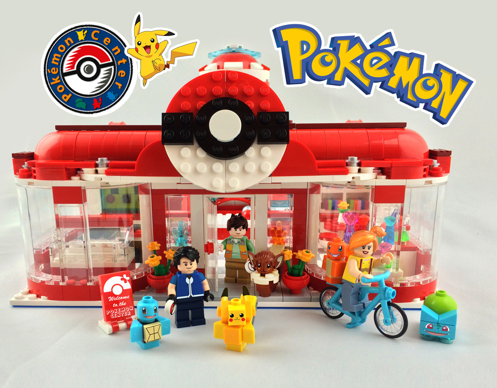 Lego Ideas Product Ideas Pikachus Pokemon Center Visit