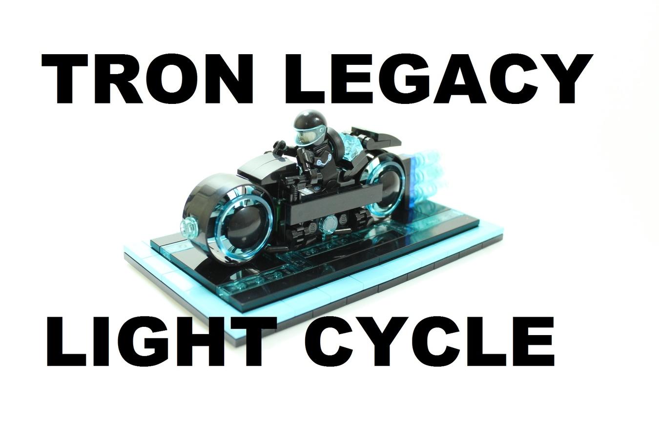 lego ideas - product ideas - tron legacy light cycle
