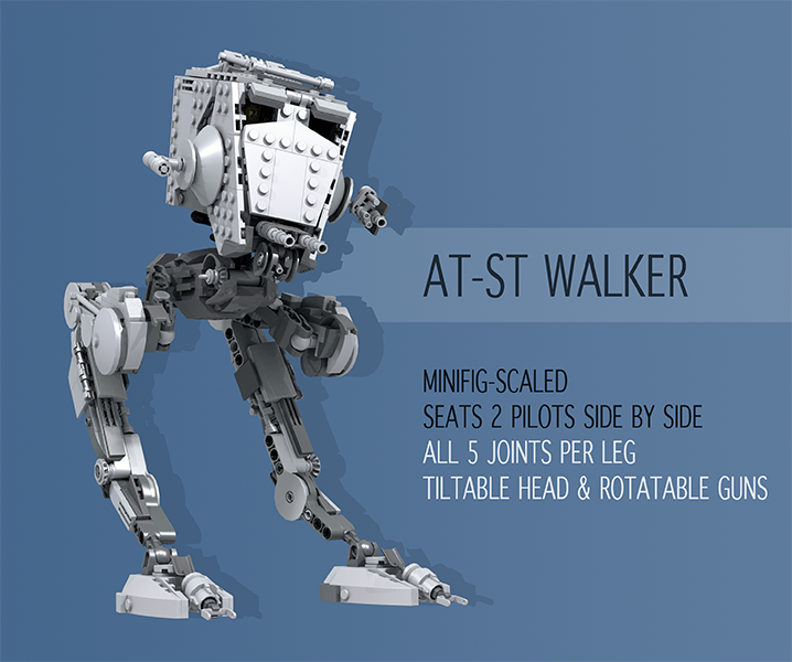 Lego Ideas Product Ideas Articulated Star Wars At St
