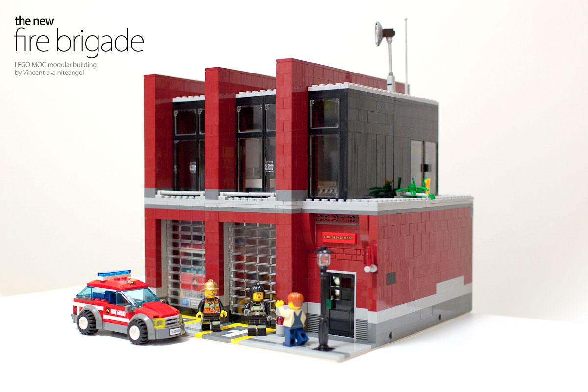 Modern fire brigade