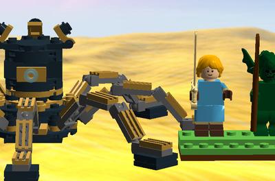 LEGO IDEAS - Product Ideas - Guardian - The Legend of Zelda