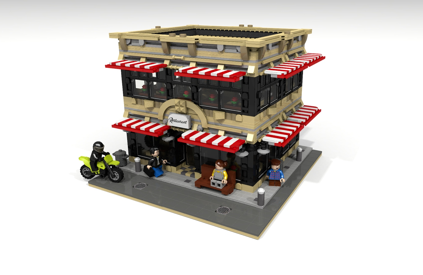 LEGO IDEAS - Product Ideas - City Restaurant