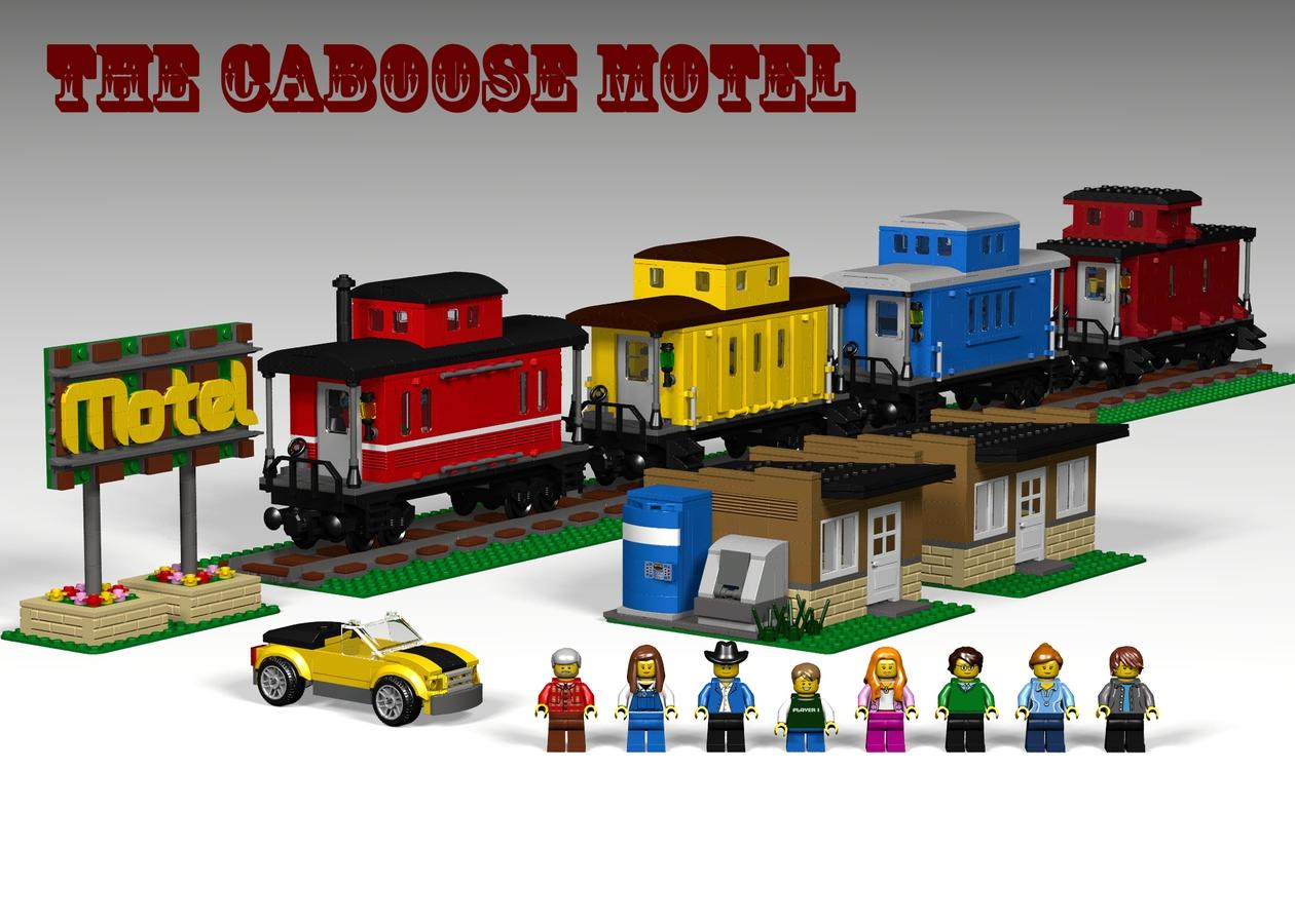 LEGO IDEAS - Product Ideas - Caboose Motel