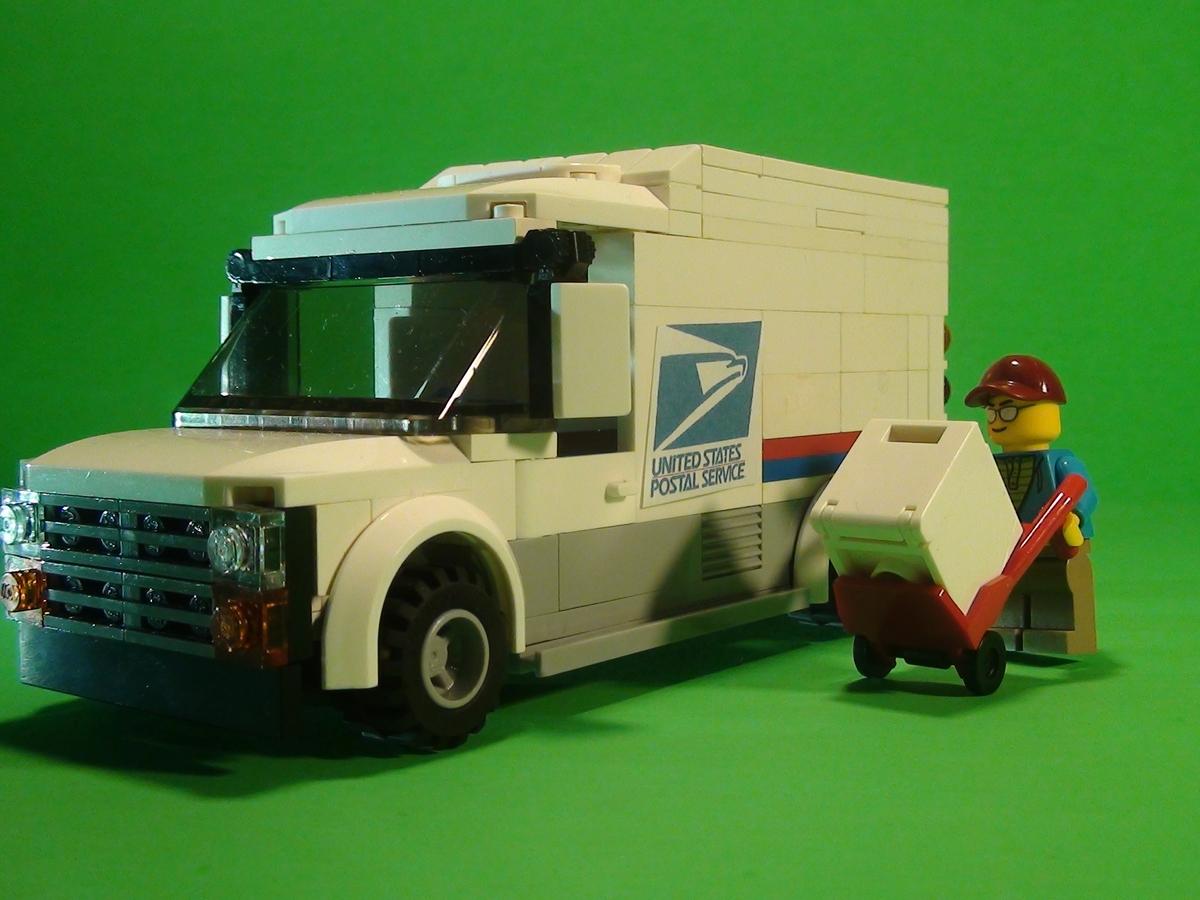 Llv Mail Truck Grumman Wiring Diagram Lego Ideas Product 1200x900
