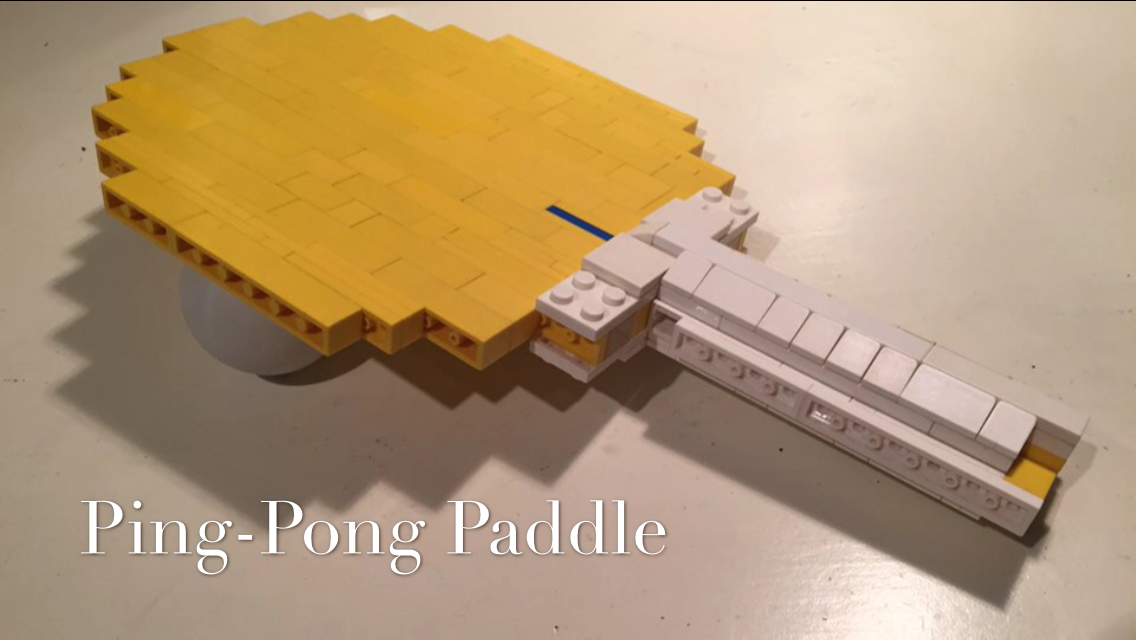 Excellent Lego Ideas Product Ideas Ping Pong Paddle Home Interior And Landscaping Mentranervesignezvosmurscom
