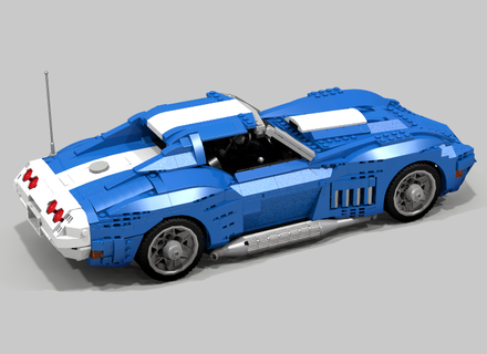 Lego Ideas Product Ideas 1969 Chevrolet Corvette