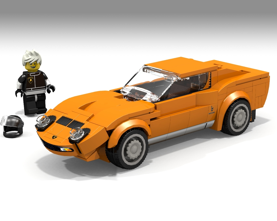 Lego Ideas Product Ideas Lamborghini Miura Lego Speed Champions