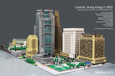 LEGO IDEAS - Product Ideas - HSBC Main Building, Hong Kong