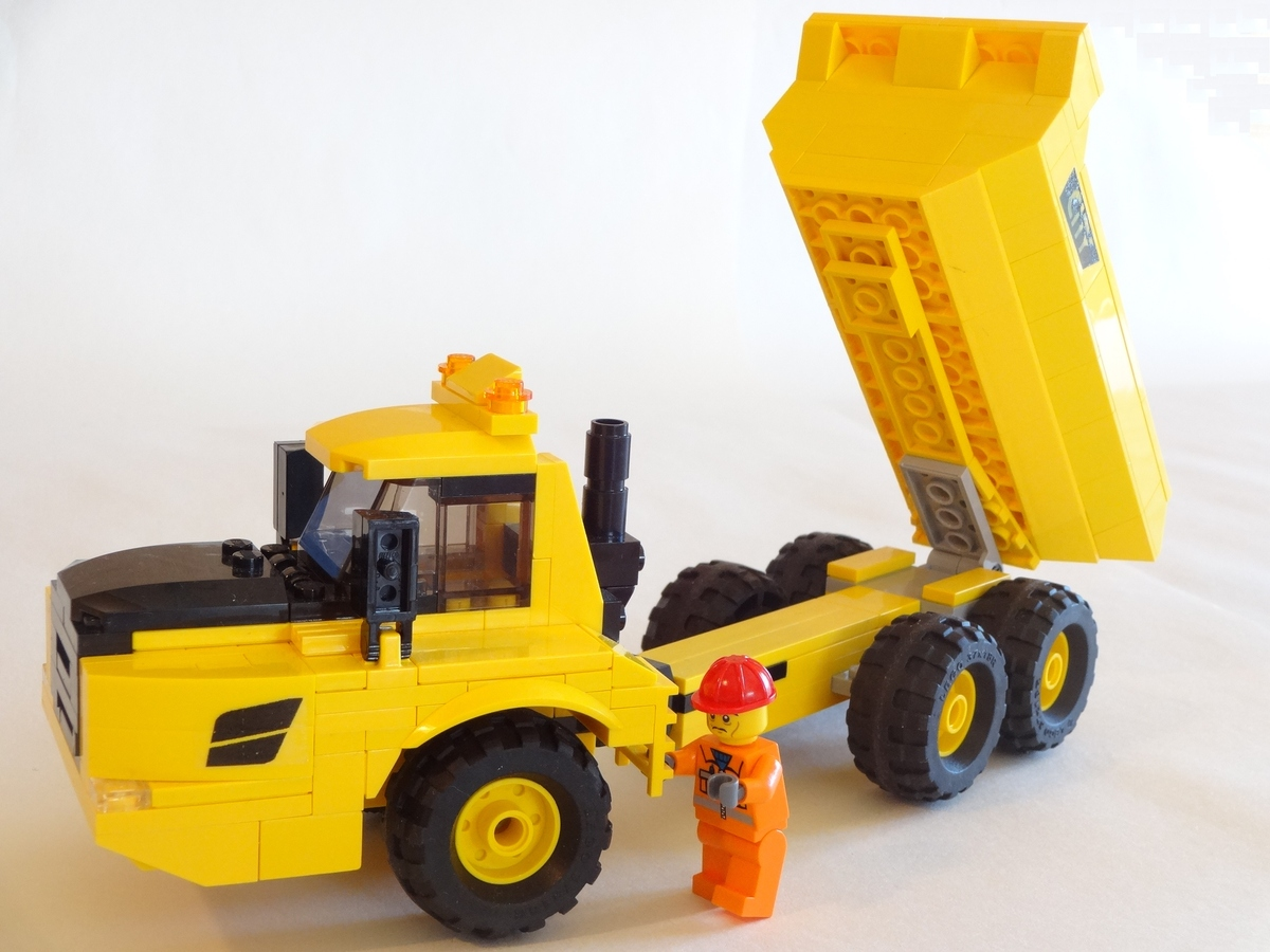 Lego Ideas Product Articulated Dump Truck No Disassemble Proposal Makes It Easy To 1 9