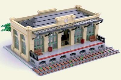LEGO IDEAS - Product Ideas - Modular Train Station