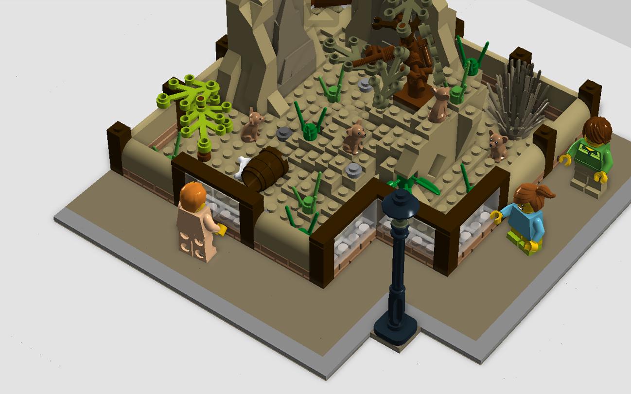 LEGO IDEAS - Product Ideas - Zoo series, Meerkat Enclosure