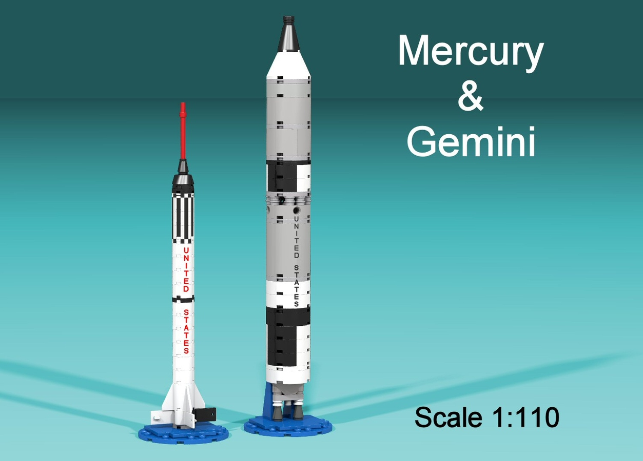 Gemini Space Program >> Lego Ideas Product Ideas Nasa Mercury And Gemini