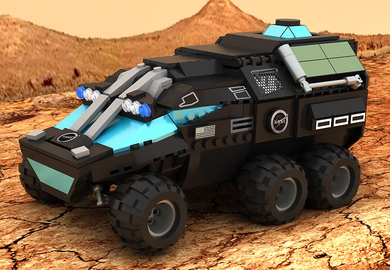 Lego Ideas Product Ideas Mars Rover Concept Vehicle