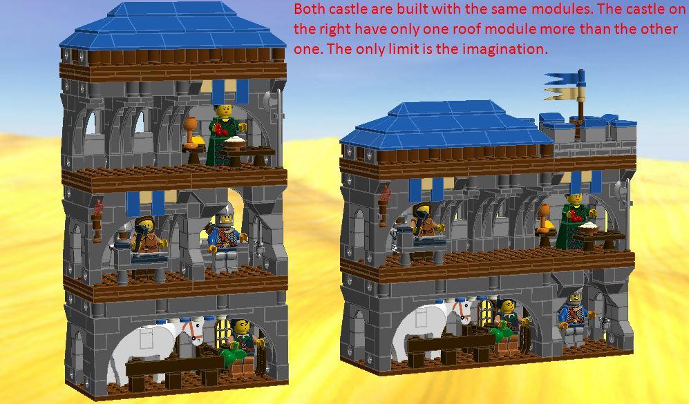 Lego Ideas Product Ideas Modular Castle Project