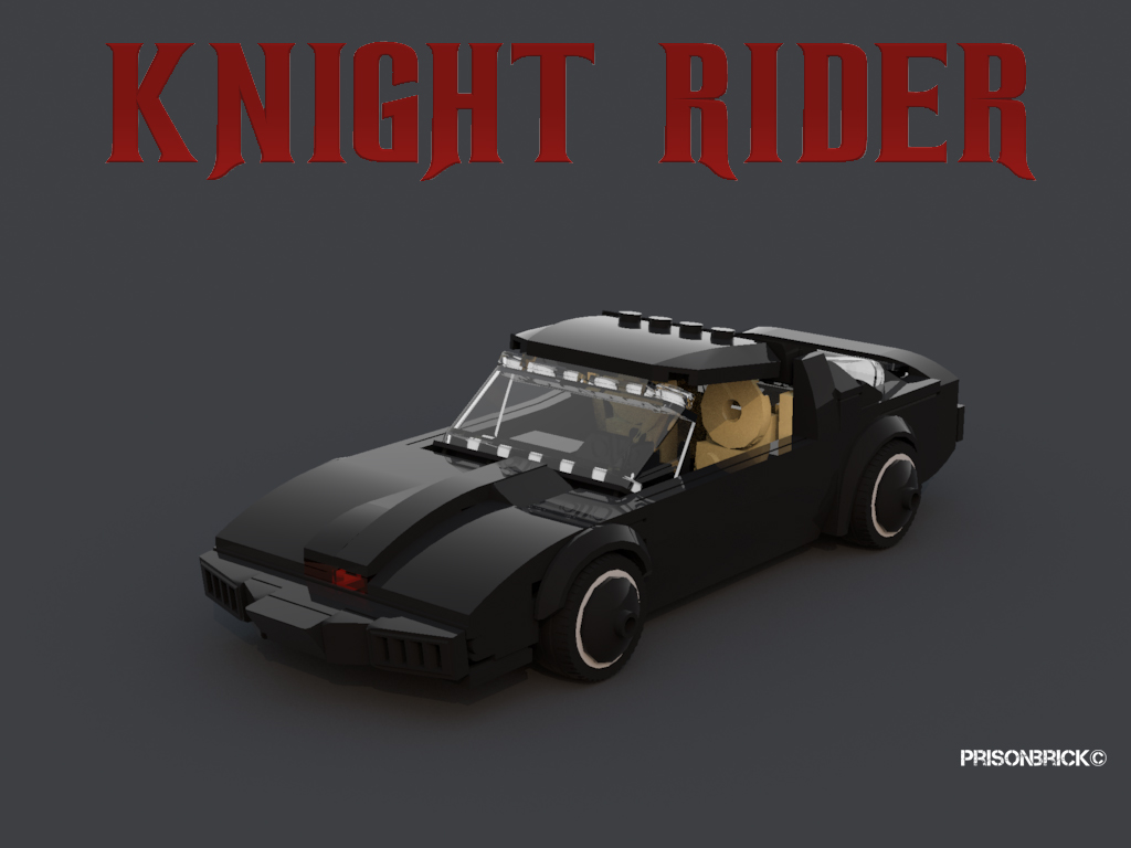 lego ideas product ideas knight rider k i t t. Black Bedroom Furniture Sets. Home Design Ideas