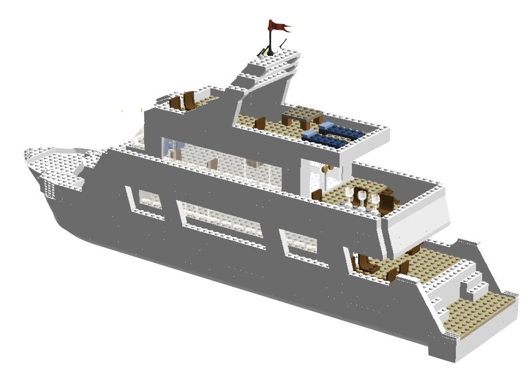 Lego Ideas Product Ideas Lego Yacht