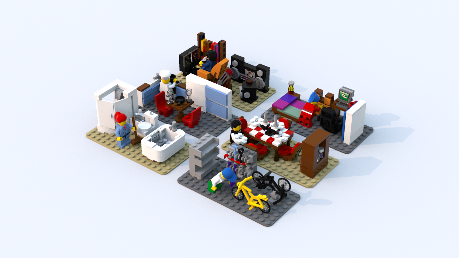 Lego Ideas Product Ideas Interiors And Furniture