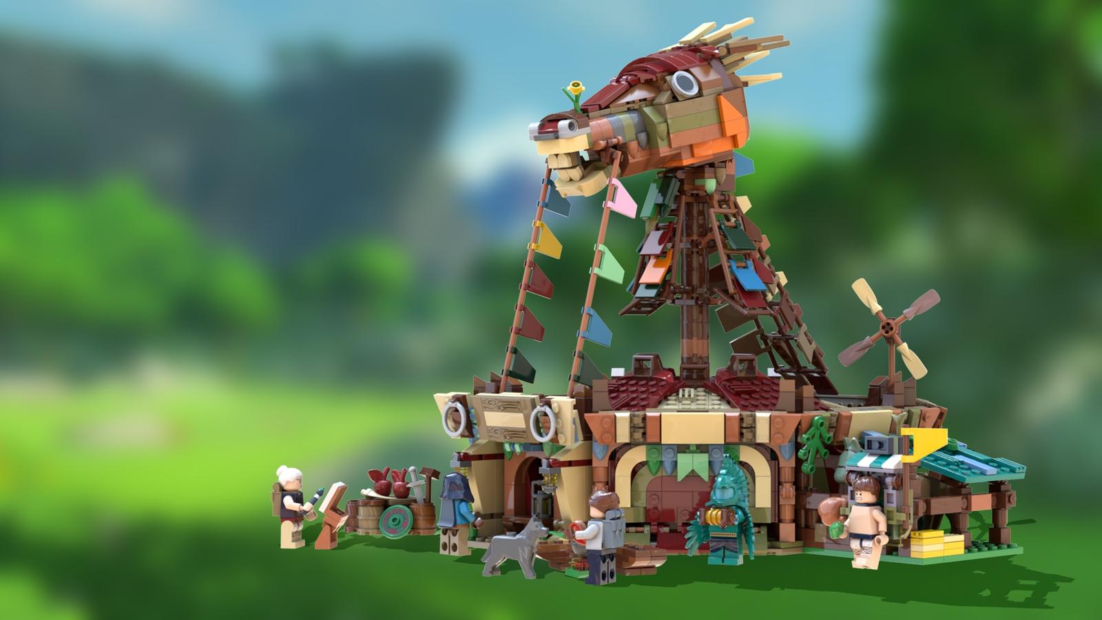 LEGO IDEAS - Product Ideas - The Legend of Zelda: BotW Stables
