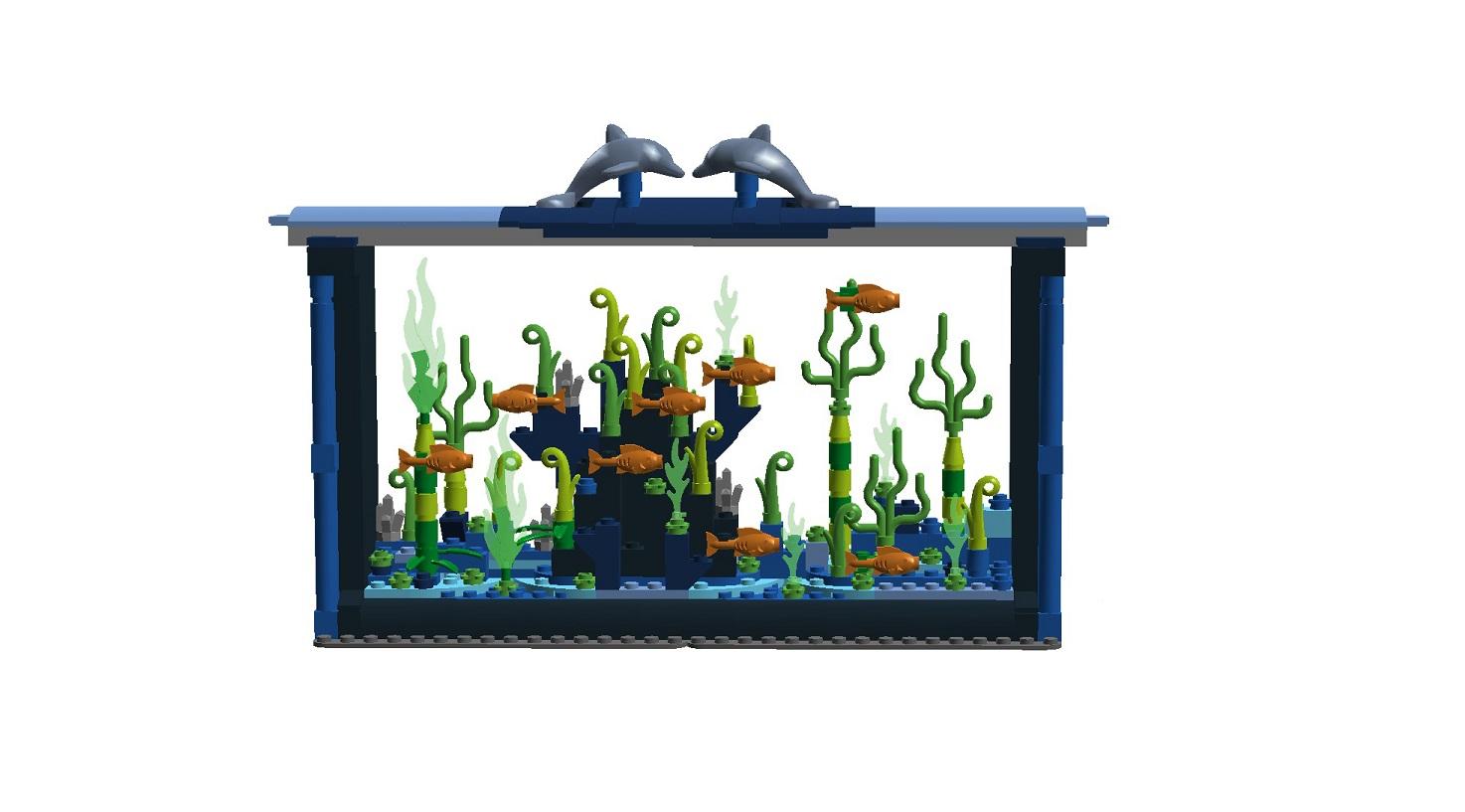Lego Ideas Product Ideas Fish Aquarium