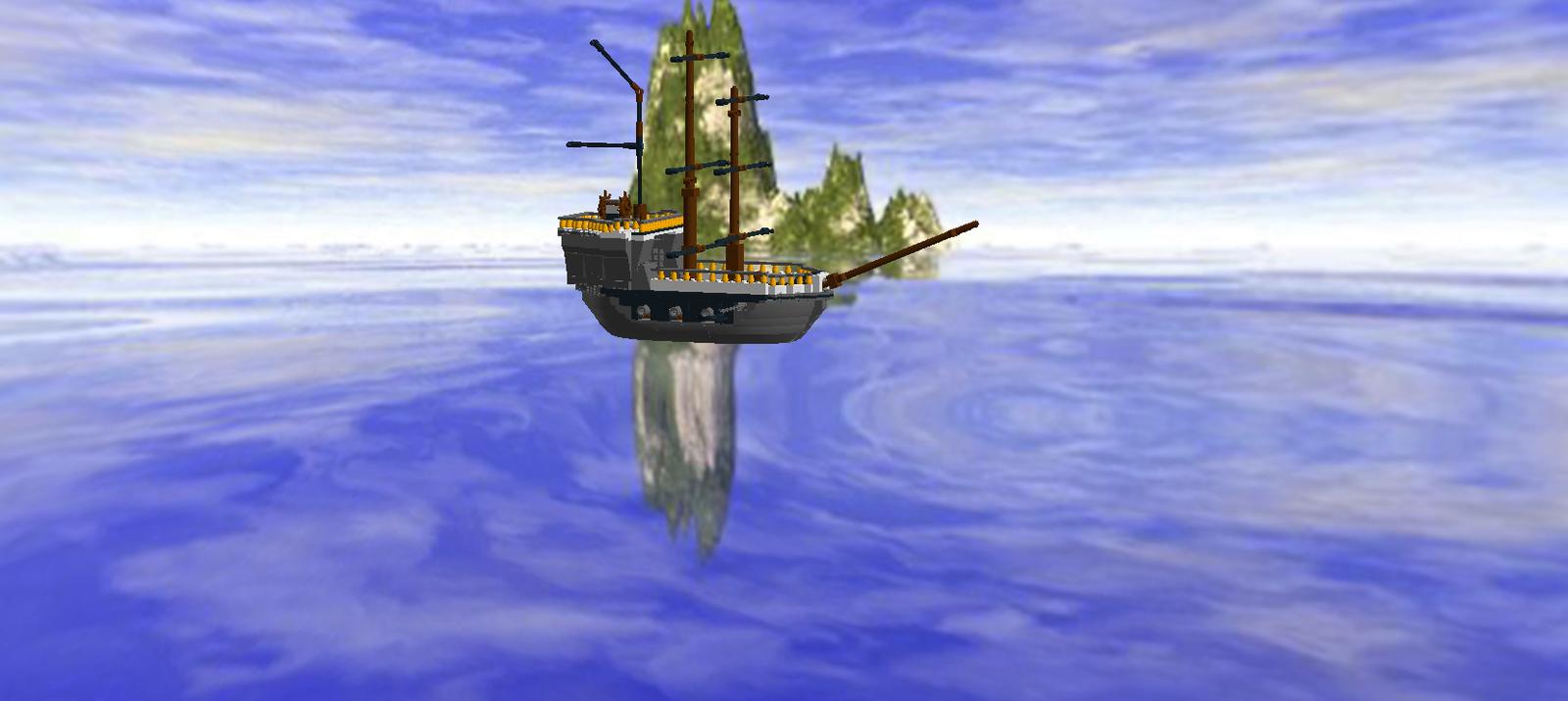 LEGO IDEAS - Product Ideas - The Pirate Schooner