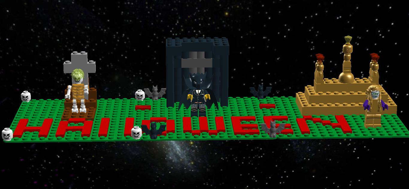 lego ideas - product ideas - lego halloween monsters