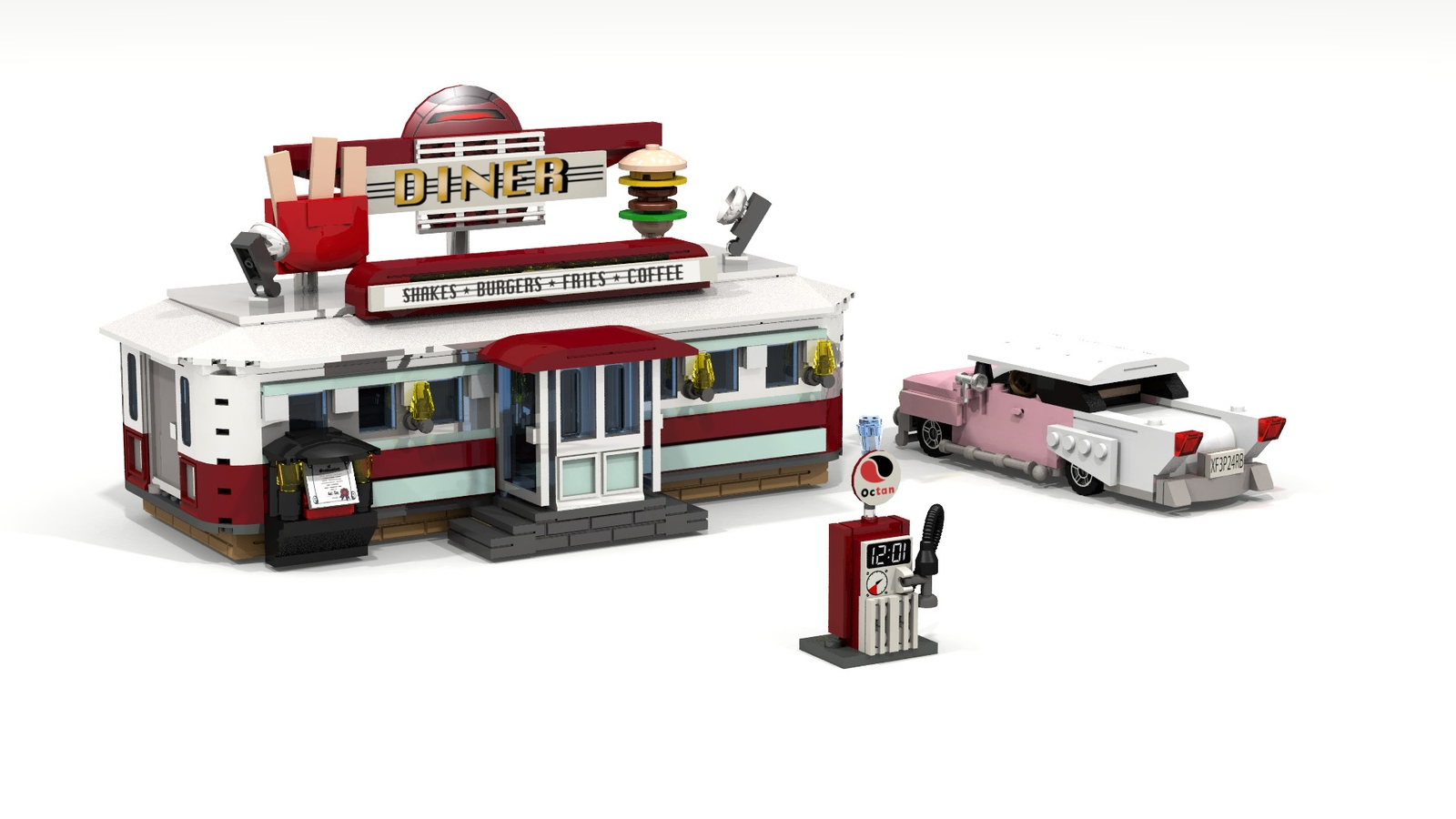 LEGO IDEAS - Product Ideas - 1950's Diner