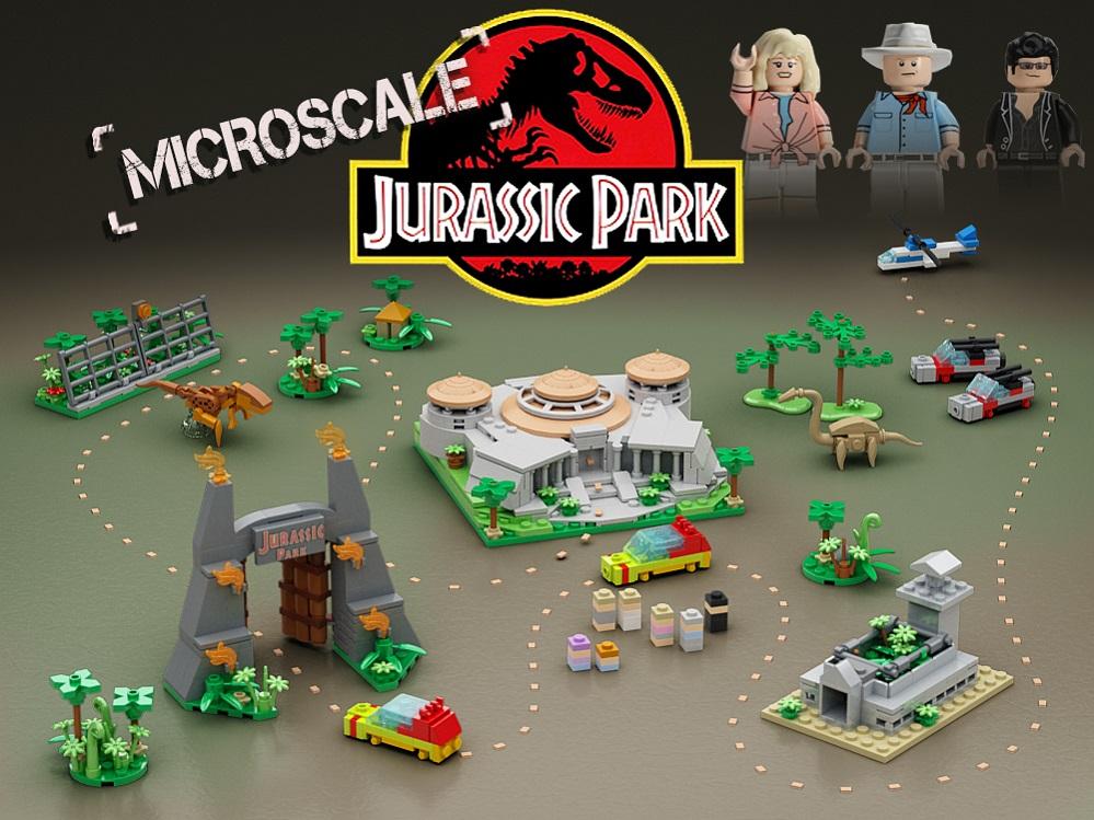 Lego ideas product ideas microscale jurassic park microscale jurassic park gumiabroncs Choice Image