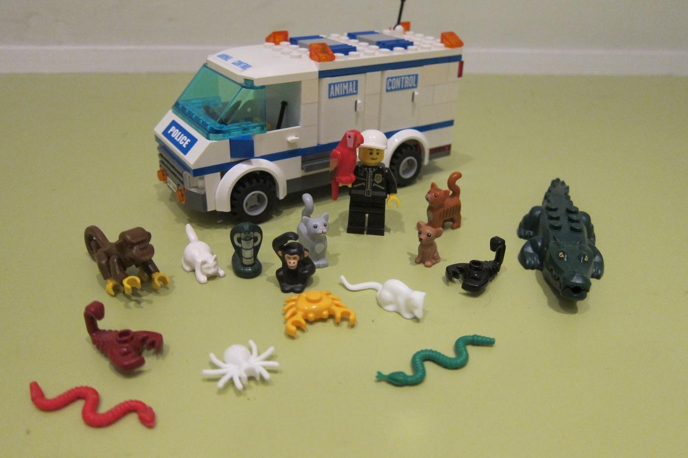 LEGO IDEAS - Product Ideas - Police Animal Control Unit